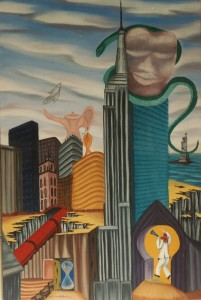 """Grand Central WatchOil/Acrylic on Canvas 24"""" X 36"""""""