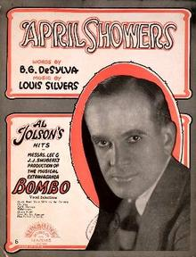 Al Jolson - April Showers