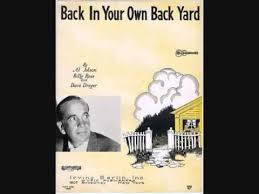 Back in Your Own Backyard