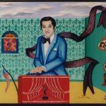 """Danny's Room - Oil/Acrylic on canvas 24"""" X 36"""""""